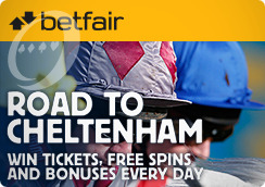 Check out the Road to Cheltenham at Betfair Casino