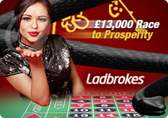 Join the Race to Prosperity at the Ladbrokes Casino