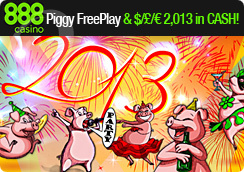 New Party Pigs Slot and Promo at 888 Casino
