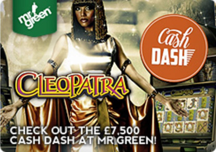 Check Out the £7,500 Cash Dash at Mr Green