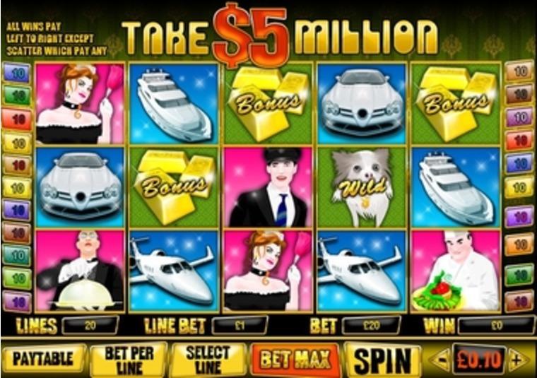take 5 online casino