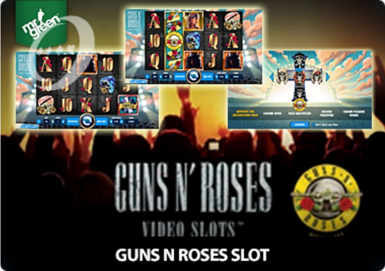 Rock with the new Guns N Roses slot at Mr Green