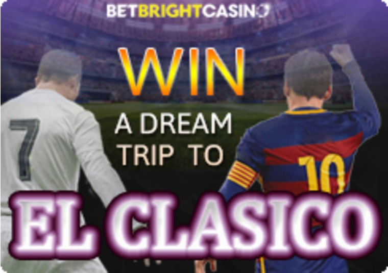 Win tickets to El Clasico and other great prizes at BetBright
