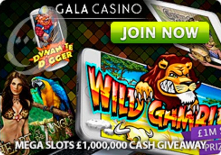Hundreds of thousands up for grabs in the Gala Casino cash giveaway