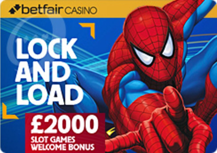Huge £2,000 Slots Welcome Bonus at the Betfair Casino