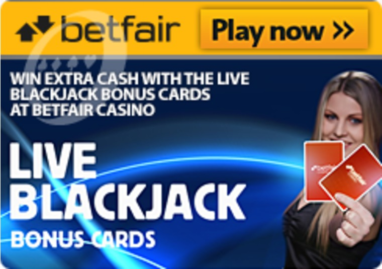 Win Extra Cash With The Live Blackjack Bonus Cards At Betfair Casino