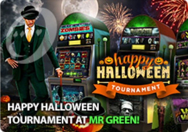 Happy Halloween Tournament at Mr Green