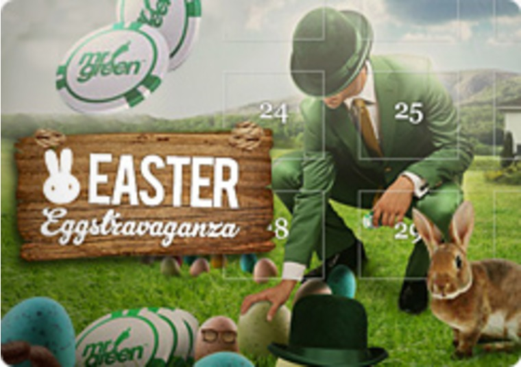 Easter EGGstravaganza at Mr Green