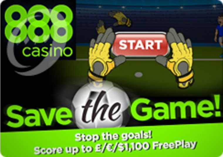 Save the Game at the 888 Casino