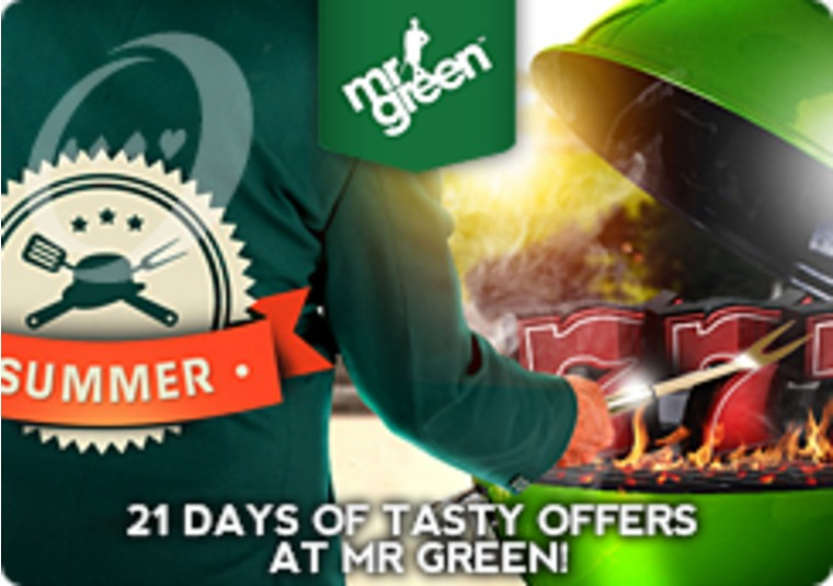 21 Days of Tasty Offers at Mr Green