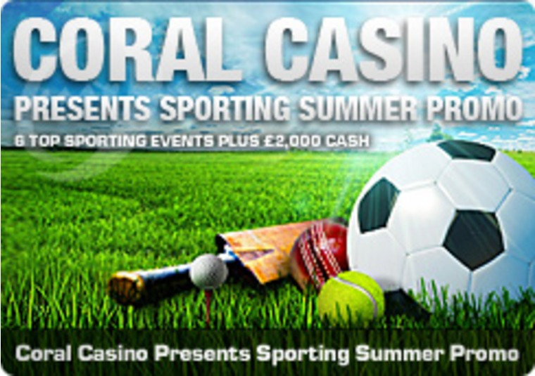 Coral Casino Presents Sporting Summer Promo