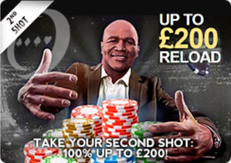 Get a 100% up to £200 bonus on your 2nd deposit at Real Deal Bet