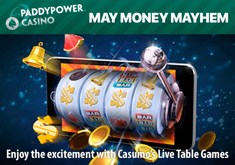 Win bonuses in Paddy Power Casino's weekly prize draws