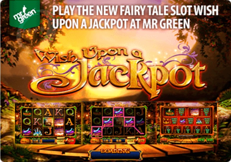 Play the new fairy tale slot Wish Upon a Jackpot at Mr Green