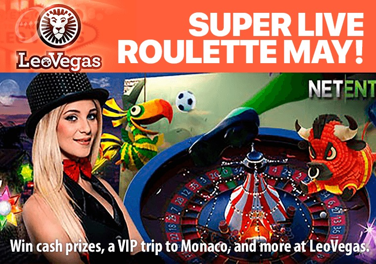 Win cash prizes, a VIP trip to Monaco, and more at LeoVegas