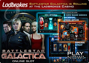 Battlestar Galactica is Rolling at the Ladbrokes Casino