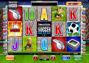 Sensible Soccer Euro Cup Slot at Virgin Casino
