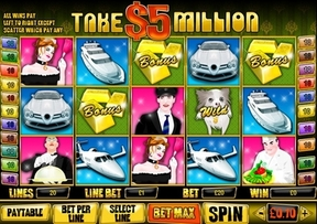 Take 5 Million Slot at William Hill