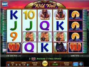 Wild Wolf Released at Virgin Casino
