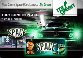 New Game Space Wars Lands at Mr Green