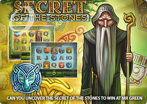 Can you uncover the secret of the stones to win at Mr Green
