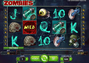 New Game Zombies Rolling at Mr Green