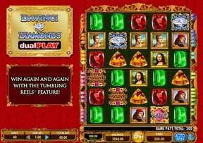 New Game Da Vinci Diamonds Dual Play