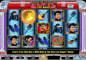 New Elvis The King Game at Mr Green