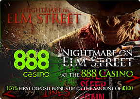 Nightmare on Elm Street at the 888 Casino