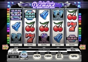 New Game Retro Reels � Diamond Glitz at the Virgin Casino