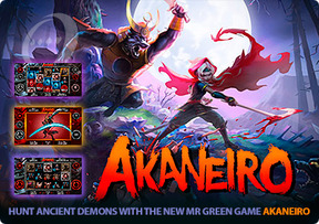 Hunt ancient demons with the new Mr Green game Akaneiro
