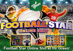 Football Star Online Slot at Mr Green