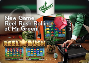 New Game Reel Rush Rolling at Mr Green