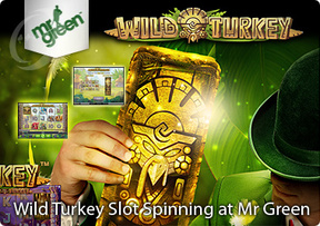 Wild Turkey Slot Spinning at Mr Green