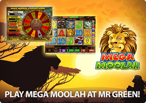 Play Mega Moolah at Mr Green