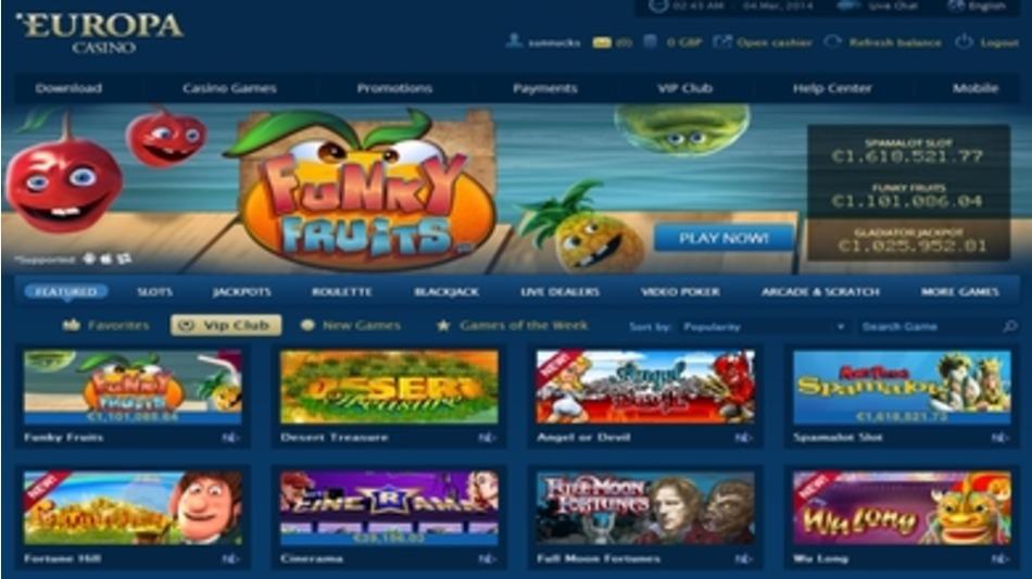 online casino europa online spielothek