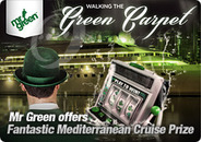 Mr Green offers Fantastic Mediterranean Cruise Prize