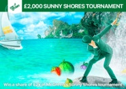 Win a share of £2k in Mr Green's Sunny Shores tournament