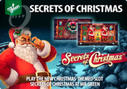 Play the new Christmas-themed slot Secrets of Christmas at Mr Green