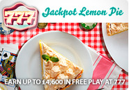 Earn up to �4,600 in free play at 777