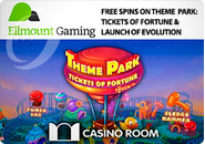 Play a brand new slot at Casino Room with free spins.