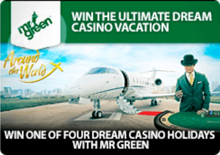 Win one of four dream casino holidays with Mr Green