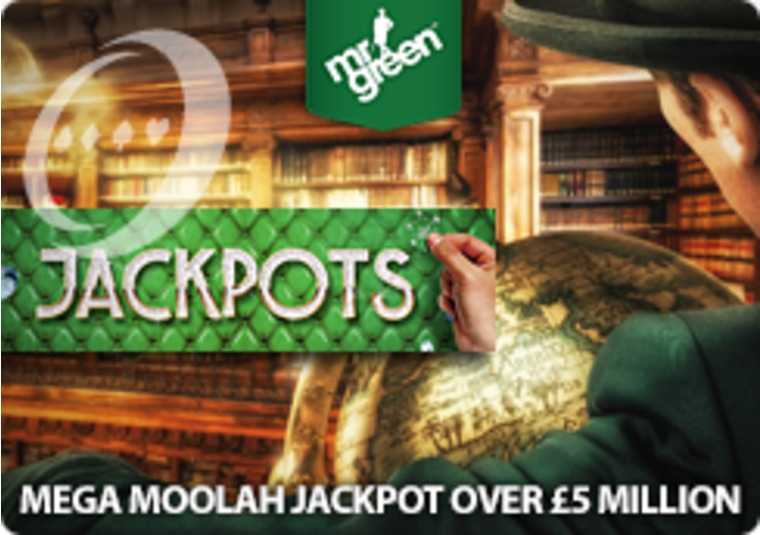 Mr Green's Mega Moolah jackpot is now over £5 million