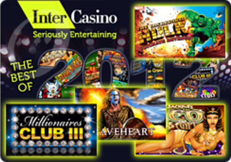 InterCasino Boasts the Best of 2012 Promotion