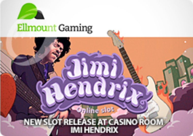 Free spins to play the new Jimi Hendrix slot at Casino Room