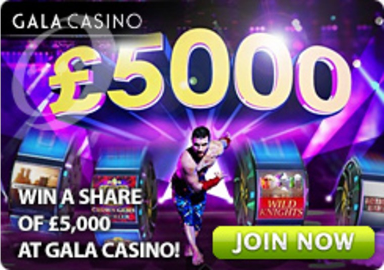 Win a Share of £5,000 at Gala Casino