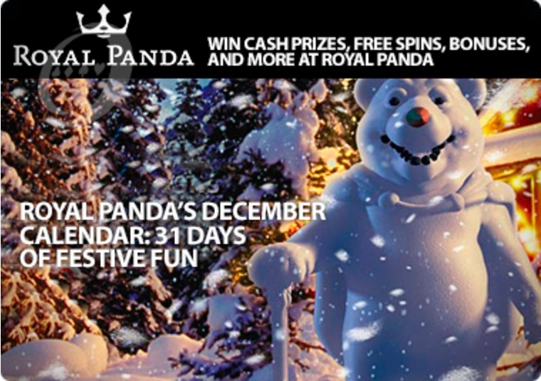 Win cash prizes, free spins, bonuses, and more at Royal Panda