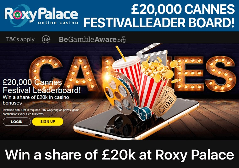 £20,000 Cannes Festival Leader Board!