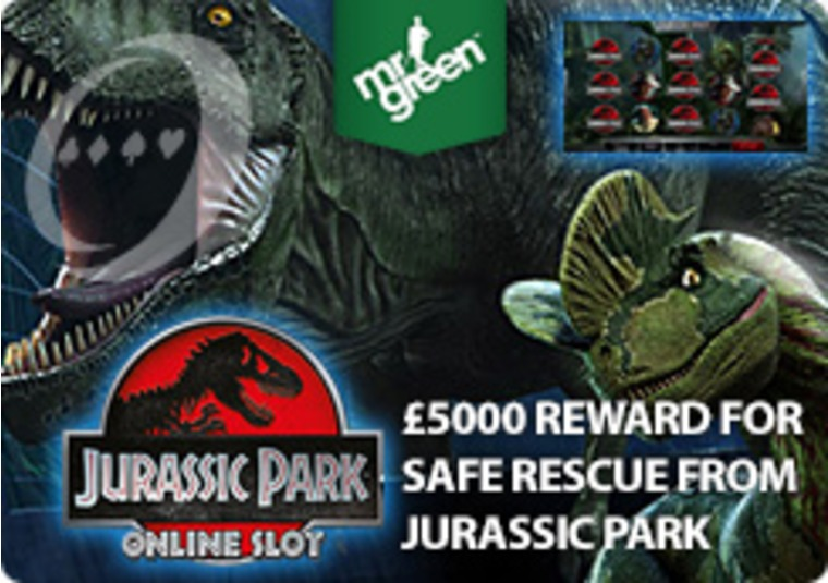 Mr Green Offers Reward for Safe Rescue from Jurassic Park