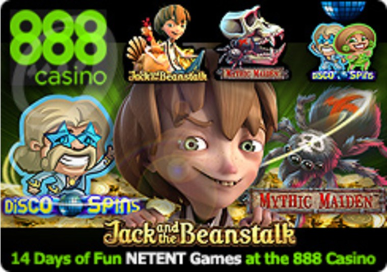 14 Days of Fun NETENT Games at the 888 Casino
